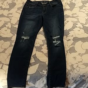 Old Navy Rockstar Distressed Skinny Jeans 8R